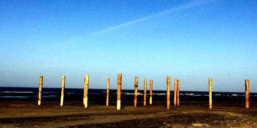 Am Strand von Schiermonnikoog