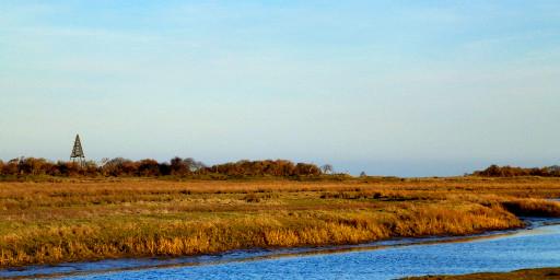 Goldene Januartage auf der Insel der grauen Mönche