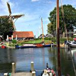 Harderwijk -Mühle am Hafen