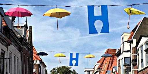 Stadt der Regenschirme - Harderwijk