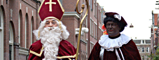 Zwarte Piet und Sinterklaas