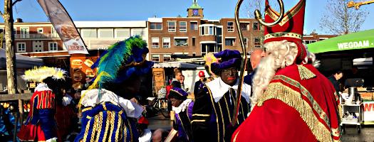Sinterklaas und Zwarte Piet