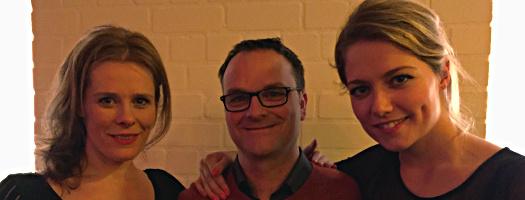 Christine de Boer, Oliver Hübner, Yentl Schieman