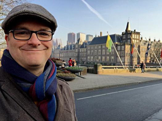 Oliver Hübner in Den Haag