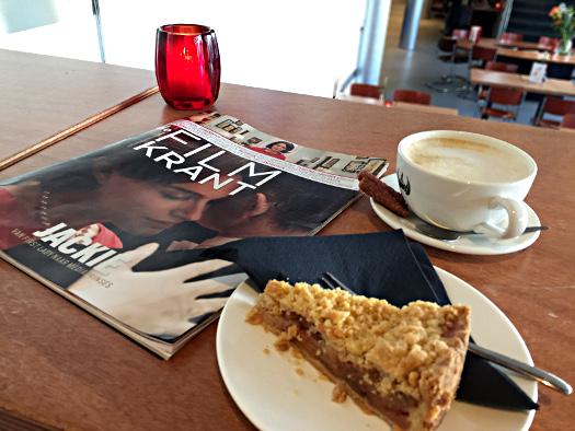 Kuchen und Filmkrant