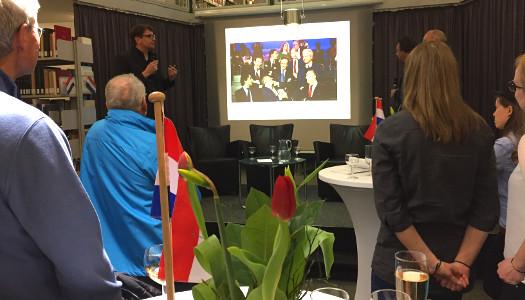 Wahlabend im Haus der Niederlande, Uni Münster