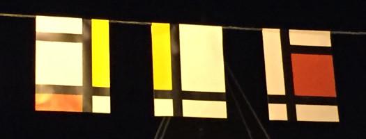 Amersfoort Mondrian Fahnen