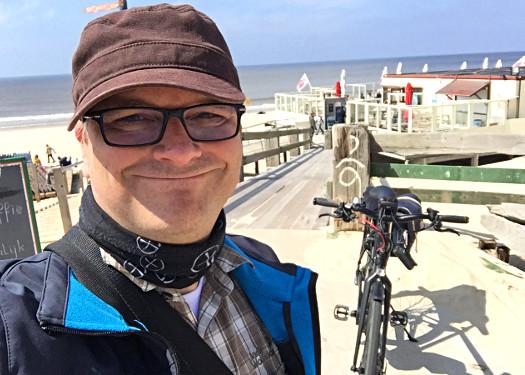 Mit dem E-Bike an der Nordsee