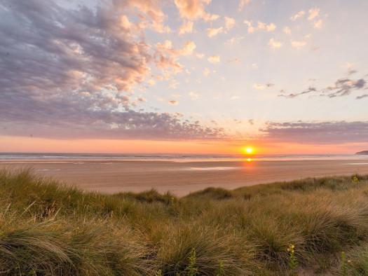 Romantik pur - Sonnenuntergang am Strand - CC0