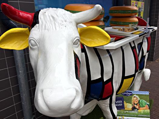 Mondrians Kuh in Winterswijk