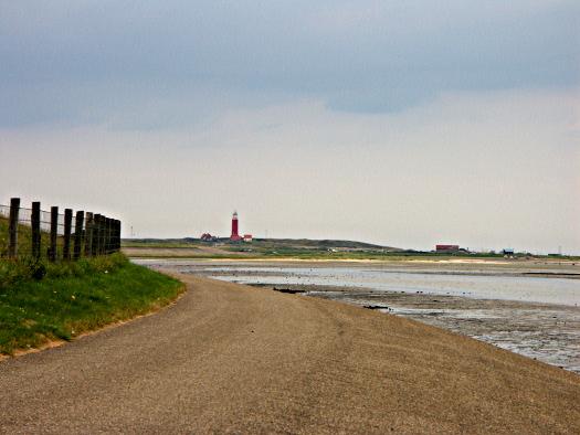 Ebbe und Flut: Waddenzee-Seite auf Texel