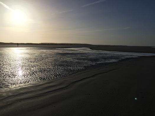 Ebbe oder Flut auf Schiemonnikoog