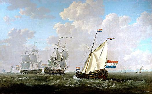 Goldene Zeiten - Ostindienfahrer in Rotterdam