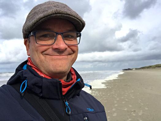 Oliver Hübner auf Ameland