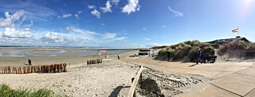 Ameland: Am Strand von Ballum