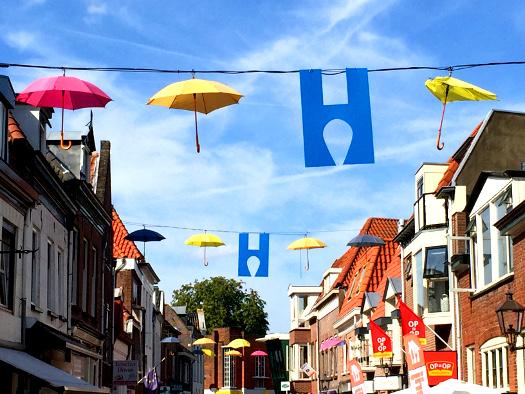 Paraplu in Harderwijk