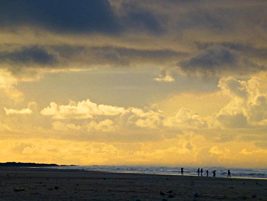 Abendstimmung am Strand von Ameland
