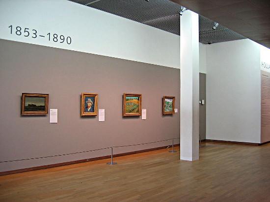 van Gogh im van Gogh Museum Amsterdam