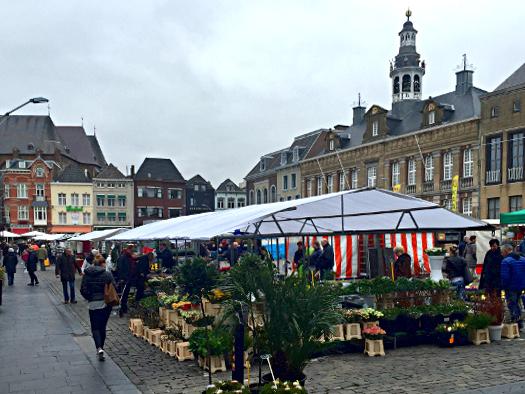 Wochenmarkt Niederlande: Roermond