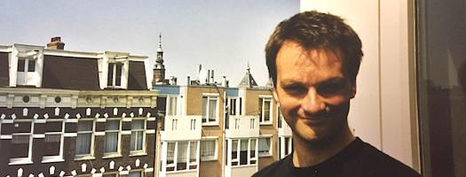 Oliver Hübner in Amsterdam