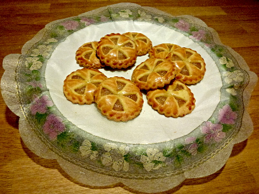 Apfelplätzchen - appel koek