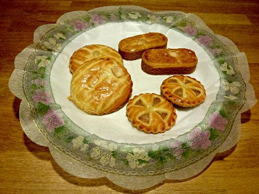Gevulde koek, appel koek, kano koek