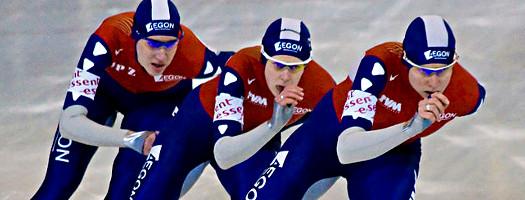 TeamNL schaatst - Ireen Wüst, Renate Groenewold, Jorien Voorhuis