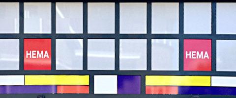 Mondriaan-Stil - HEMA in Winterswijk
