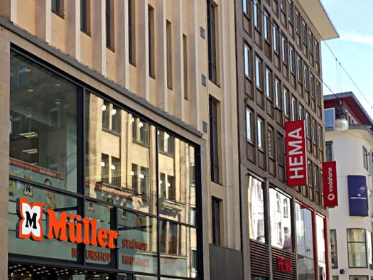 Fassade des HEMA in Dortmund