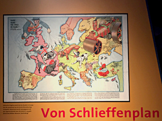 Im Infozentrum zum Ersten Weltkrieg, Doorn