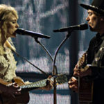 The Common Linnets auf der ESC Bühne - Foto by Albin Olssen