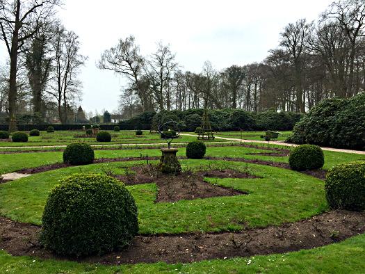 Der Auguste-Victoria Garten im Park Haus Doorn