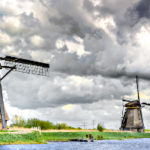 Windkraft im Polder - Mühlen in Kinderdijk
