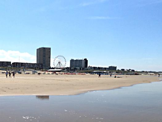 Strand in Zandvoort