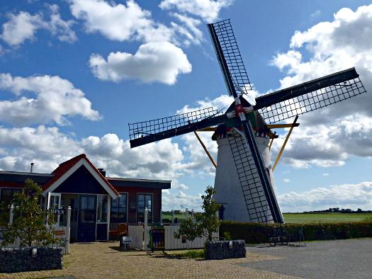 Windmühle De Lelie Scharendijke