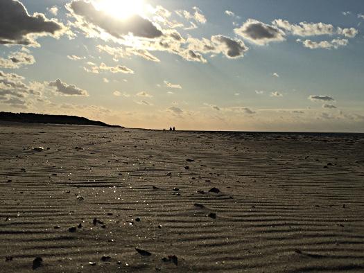Abendlicher Strand in Renesse
