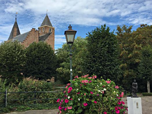 Blick auf das Schloss Haamstede