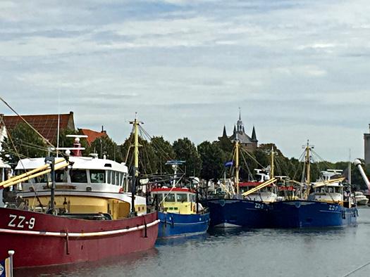 Am Stadthafen von Zierikzee