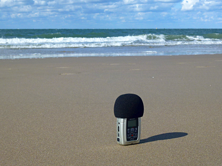 Podcast Nordsee - H2Zoom am Strand