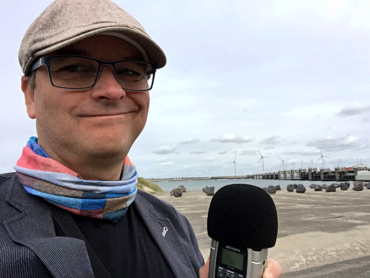Podcast an der Scheldekering