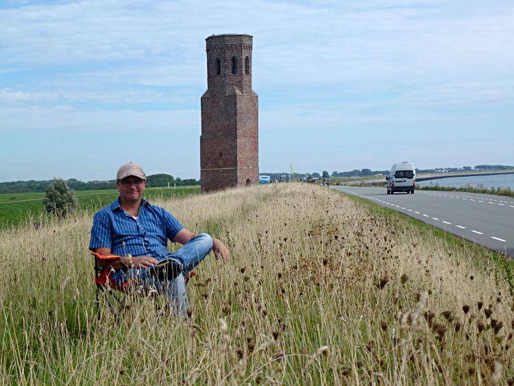 mit dem Plompe Toren, Schouwen-Duiveland