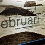 Strumflut, Tafel im Waternoodmuseeum, Ouwerkerk