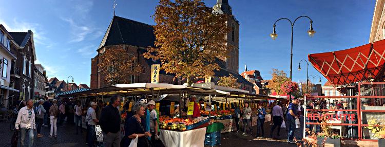 Wochenmarkt Winterswijk groß