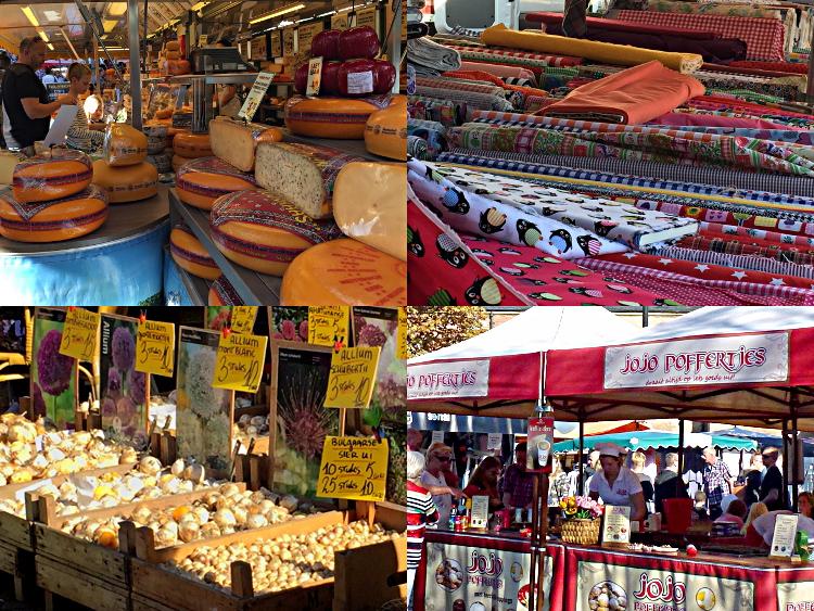 Angebote auf dem Wochenmarkt in Winterswijk