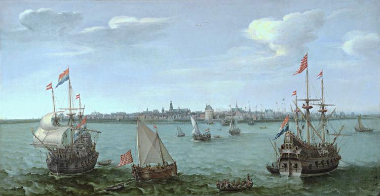 Sicht auf Hoorn von Hendrick Cornelisz Vroom, Westfries Museum Hoorn