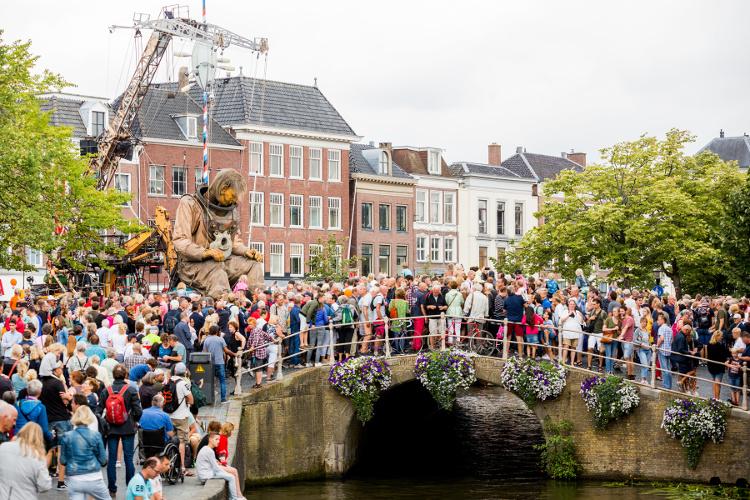 The Giants of Royal de Luxe - Diver - LF2018, Foto: Ruben van Vliet