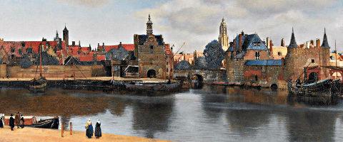Vermeer: View of Delft