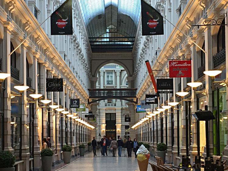 Einkaufspassage Den Haag