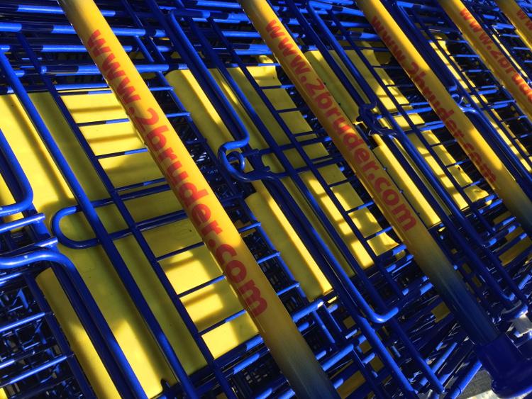Einkaufswagen 2 Brüder von Venlo
