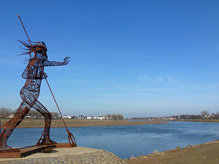 'Vreedzame Krijger' von Rik van Rijswick